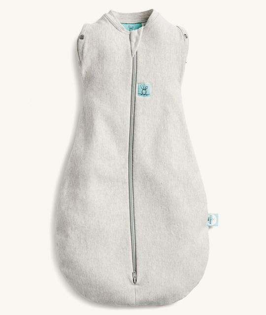 ergoPouch Cocoon Swaddle Bag 0.2 TOG Grey Marle